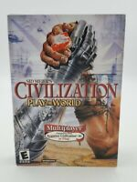 Sid Meier's Civilization III: Play the World (PC, 2002)