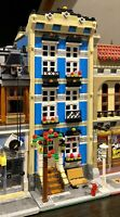 LEGO CUSTOM MODULAR BUILDING TOWN HOUSE fits with 10218 10246 10251 MOC 560 np