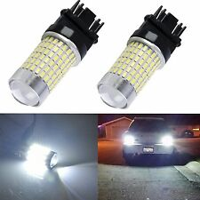 JDM ASTAR 2x 144 SMD 3157 3156 LED Bulb Super White 2400lm Back Up Reverse Light
