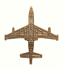 Hawker Siddeley Nimrod Royal Air Force RAF Gilt Pin Badge