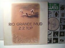 LP,  ZZ Top, Rio Grande Mud, 1980, Topzustand, NM