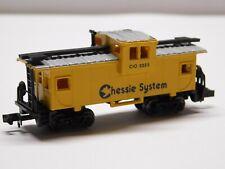 N Scale - Chessie System Caboose Train Car C&O #3323