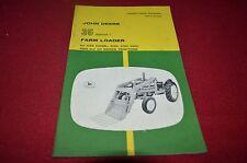 John Deere 35 Series 1 Farm Loader 435 330 430 Tractor Operator's Manual Bwpa