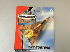 2002#vintage Matchbox Sky Busters Hero City Diecast  F  14 Toy Airlane#MOSC