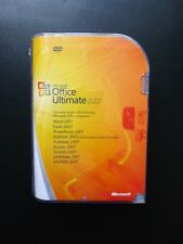 Microsoft Office 2007 Ultimate Word Excel Access Publisher Outlook 76H-00049 NEW