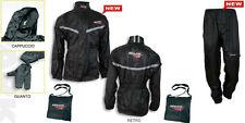 TUTA impermeabile SPARK TUONO completo MOTO pantalone + giacca ANTIPIOGGIA 2XL!!