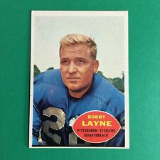 1960 Topps Bobby Layne #93 EX-EXMT Football Card Detroit Lions Vintage VTG