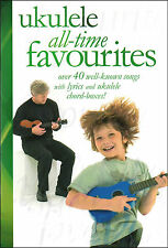UKULELE - 42 WELL KNOWN SONGS MUSIC BOOK EASY CHORD BOXES TRADITIONAL TUNES