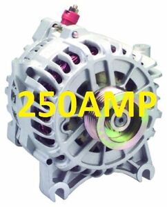 high output 250A Alternator Ford F150 F250 F350 Pickup 04 05 06 07 08 Expedition