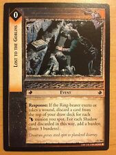 Lord of the Rings CCG Fellowship 1R189 Lost to the Goblins LOTR TCG