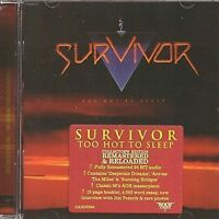 SURVIVOR - TOO HOT TO SLEEP - ROCK CANDY REMASTERED EDITION - NEW CD