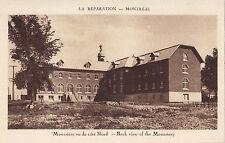 Monastère vu du côté Nord La Réparation MONTREAL Quebec Canada Carte Postale