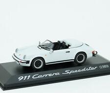 Porsche 911 Carrera Speedster 1989 G-series white Minichamps 1:43 WAP0200360A