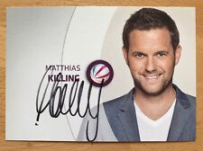 Matthias Killing AK Sat 1 Autogrammkarte (1) original signiert