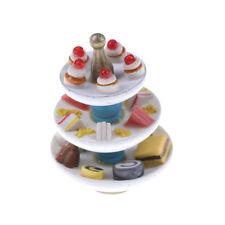 Miniature Dollhouse Accessories Siwan Scene Model Mini Three Layer Dessert SW