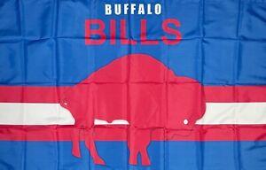 Buffalo Bills Retro Style Man-Cave NFL Flag 3x5 ft Sports Banner Garage