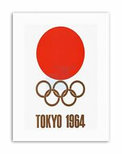 EVENT 1964 TOKYO OLYMPIC GAMES JAPAN Poster Sport Exhibition Canvas art Prints