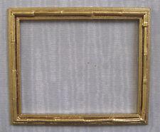 "PICTURE  FRAME ~  "" BAMBOO ""  ~ Jim Coates ~  Dollhouse Miniature ~ 1:12 scale"