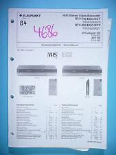 MANUAL DE Manual de servicio para Blaupunkt rtv-740/rtv-800, original