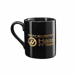 Rich Energy Haas F1 Team Logo Mug Black F1