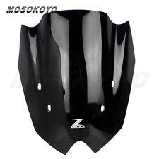 Motorcycle Windshield Fit Kawasaki Z800 Z 800 2013-2014 Black Screen WindScreen