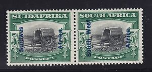 South West Africa Scott # 92 pair og never hinged nice cv $ 160 ! see pic !