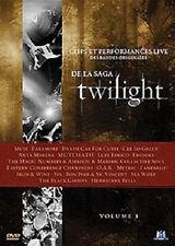 6050//TWILIGHT VOLUME 1 CLIPS ET PERFORMANCES LIVE  BANDES ORIGINALES DVD EN TBE