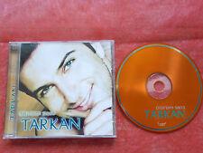 CD-TARKAN-ÖLÜRÜM SANA-MUSIQUE TURC-ISTANBUL-SIMARIK-INCI TANEN-1997-11TRACK-