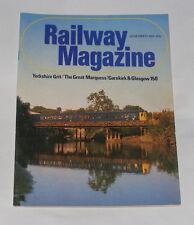 RAILWAY MAGAZINE NOVEMBER 1981 - 'THE GREAT MARQUESS'/GARNKIRK & GLASGOW 150
