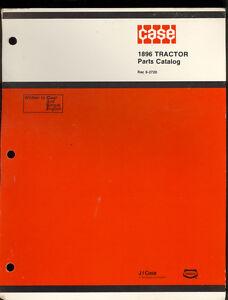 1984 J I CASE PARTS CATALOG  MODEL 1896 TRACTORS / 8-2720