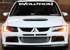 Evolution Mitsubishi Windshield  Decal Sticker jdm Lancer import sti evo illest