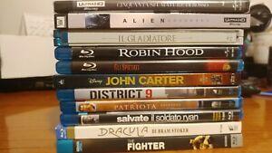 LOTTO BLU RAY 4K NUOVO USATO LOTTO COFANETTO FILM NO DVD