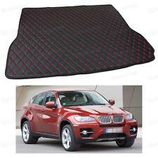 Anti Scrape Leather Car Trunk Mat Carpet Fit for BMW X6 2009 10 11 12 13 2014