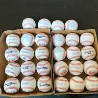Lot Of 28 Rollie Fingers Signed Autographed 341 Saves Special Edition Baseballs