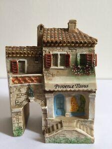 MINIATURE DOMINIQUE GAULT J CARLTON CASETTE PARIS PROVENCE FABRIC STORE HOUSE