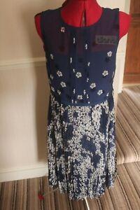 Hobbs Georgina Dress, French Blue, Size 12