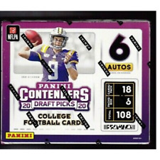 2020 Contenders Draft Picks Football Factory Sealed Hobby Box Free Shipping