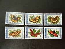 Lesotho 1038-1043 butterflies 1993  MNH-postfris mi 15 euro