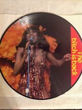 TINA TURNER The Bitch is Back BALKANTON LP NM picture disc germany