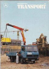 1987 MERCEDES BENZ TRANSPORT Mag #150 in English; Coal Hauling, 4WD207D, etc