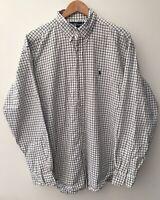 Mens White Ralph Lauren Shirt Size L <NZ48
