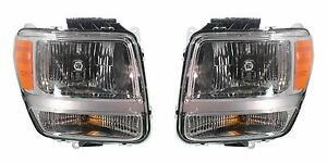 2007 2008 2009 DODGE NITRO HEADLIGHT HEADLAMP LIGHT LEFT AND RIGHT PAIR SET