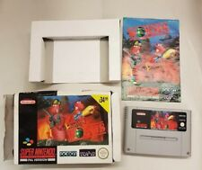 SNES Worms (with box & manual) PAL