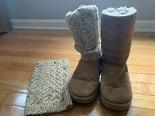 UGG Tularosa Route Detachable Women's Suede Chestnut Boot Sz 7 1209