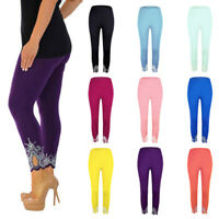 Womens Stretch Leggings Long Yoga Pants High Waisted Trousers Fitness Plus Size