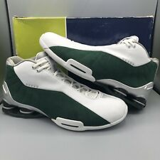 c14db6dcad9 01 NIKE SHOX BB4 MICHIGAN STATE TB WHITE SILVER FOREST GREEN VC 330009-107  13
