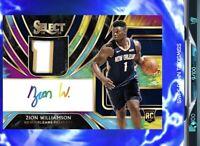 DIGITAL CARD NBA Dunk App - Select Zion Williamson Rookie Patch Auto RPA # 9/100