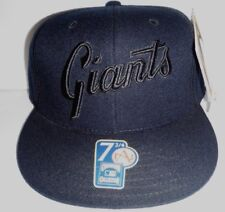 8170e29b13777 San Francisco Giants Blackout American Needle Fitted Size 7 3 4 Cap NWT MLB  Hat