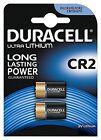 Pack of 2 Duracell CR2 3v Lithium Photo Battery DLCR2 ELCR2 CR17355 1CR2 KCR2