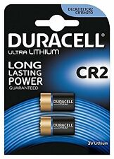Lot de 2 DURACELL CR2 3 V Lithium Photo Batterie DLCR 2 ELCR 2 CR17355 1CR2 KCR2